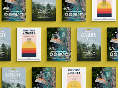 Travel Magazine Designing - 2 minimal illustration design brochure design magazine design branding