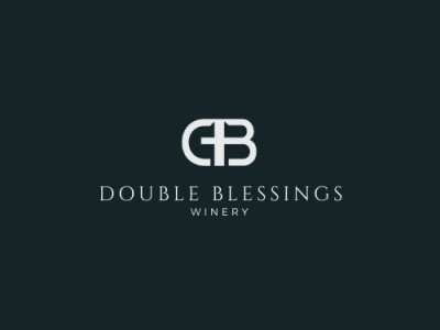 Logo Design Concept for Double Blessings branding typography design illustration creative logo logo minimal