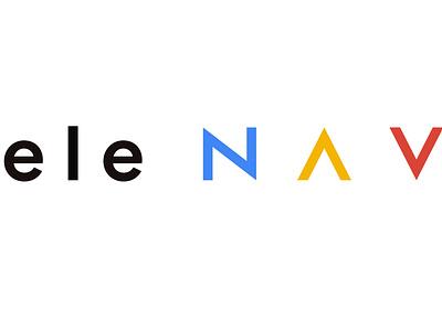Logo Design for Ele-nav Company branding design logo