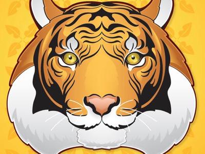 Vector Tiger Illustration