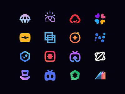 24 Logos - Trademarks logodesign logos concept identity minimal clean logo design logotype icon logo brand branding design brand identity brand design branding