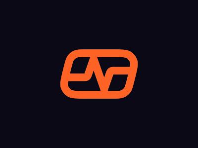 Logo Design - Pulse square branding design brand design clean logo design minimal icon logotype logo brand identity brand branding ekg pulse active