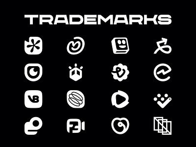 40 Logos - Trademarks For Behance clean branding design brand design logo design minimal logotype brand identity brand branding icons icon logtype logo logos