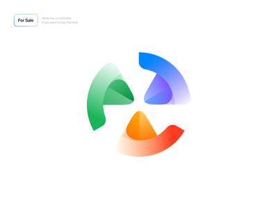 The Logo Concept synchronization sync tech colorful logodesign logos branding design logo design brand design minimal icon logotype logo brand identity brand branding