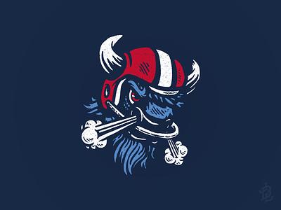 Gameface 26 shirts bills mafia football buffalo bison mafia vintage illustration design logo