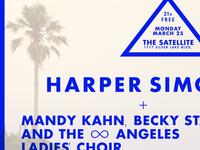 Harper Simon March25