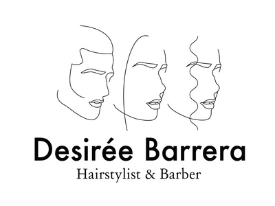 Logo design for Hairstylist and Barber