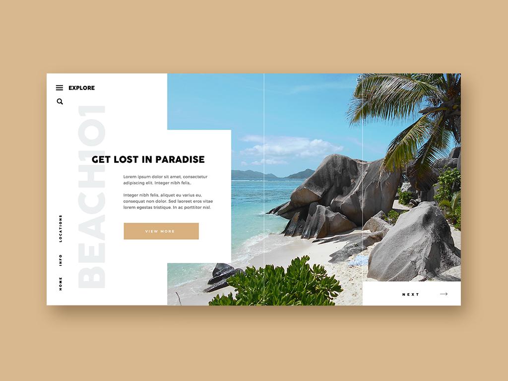 Conceptual Web Page Mock Up branding layouts fun design uidesign webdesign web layoutdesign layout ui