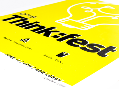 Thinkfest Event Poster