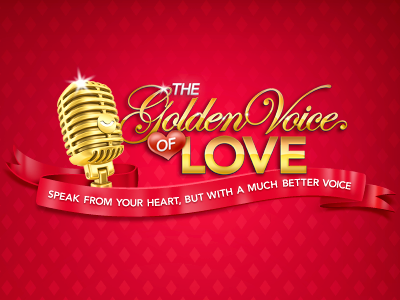 Golden Voice of Love Logo