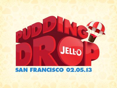 Jell-O Pudding Drop Logo