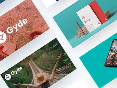 Gyde - Website Design motion graphics design logo animation identity design graphic design ui branding