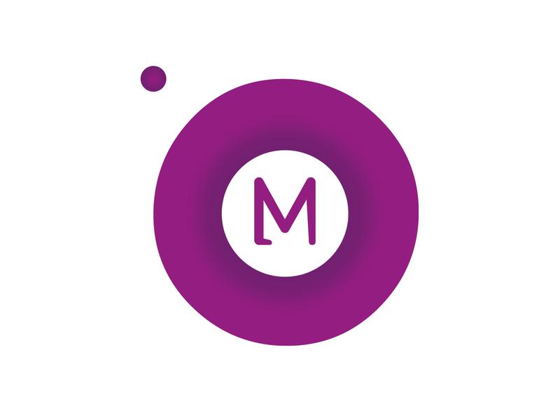 OM Logo branding brand logotype vector web illustration design frizvan ivanlife fiv letter lettering logo om