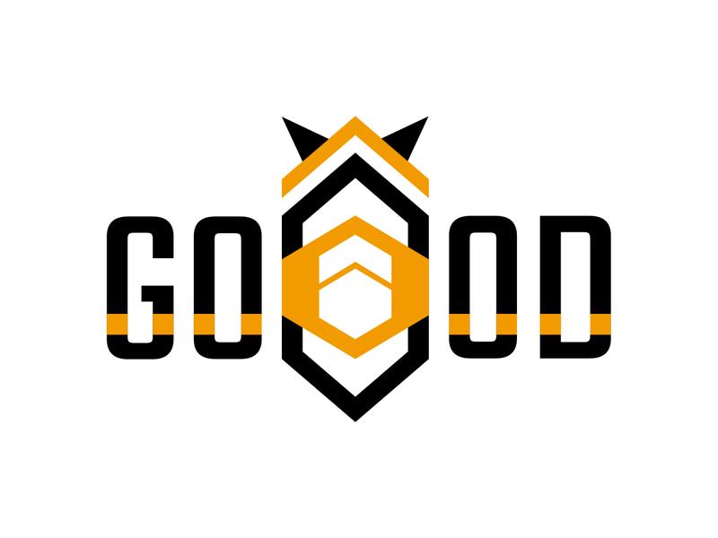 Bee Good branding logotype design illustration frizvan logo ivanlife fiv good vibes begood good bee beegood