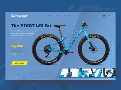 The Pivot LES Fat Bike Concept