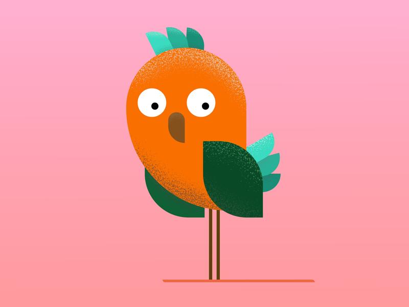Bird branding fiv ui animal brand bird icon bird illustration bird logo bird vector illustration icon frizvan logo ivanlife design