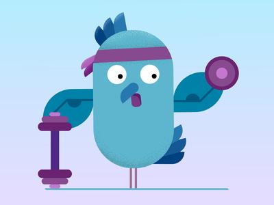 Fitness Bird