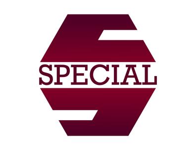 Concept Logo - «Special» specialist specialforyou special offer sketch vector illustration logo ivanlife frizvan design fiv icon foryou logotype specials special
