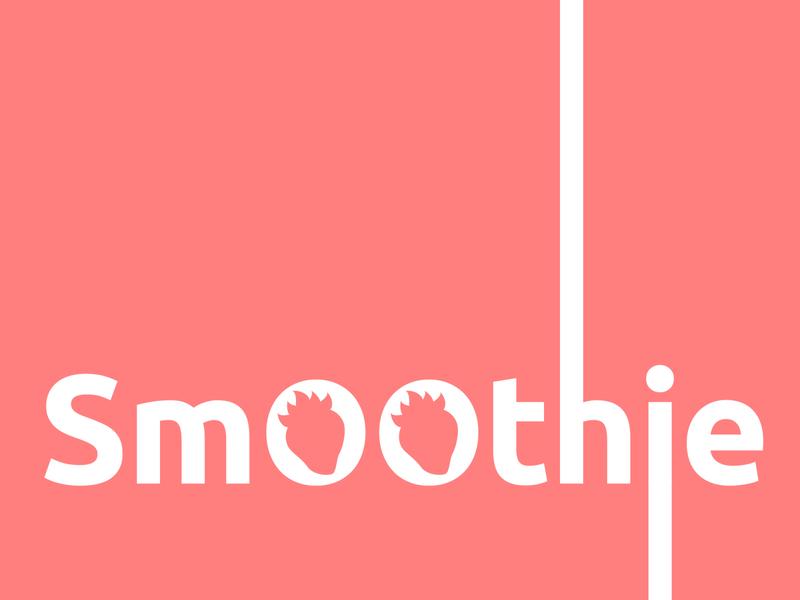 Concept Logo - «Smoothie» design vector illustration logo ivanlife frizvan fiv concept juice freshsmoothie fresh strawberry logotype smoothies