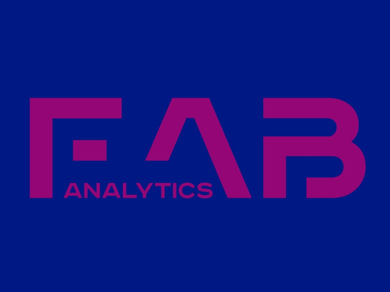 Logo for - «FAB Analytics» fab analytics analytics website web icon ui illustration logo ivanlife frizvan fiv design