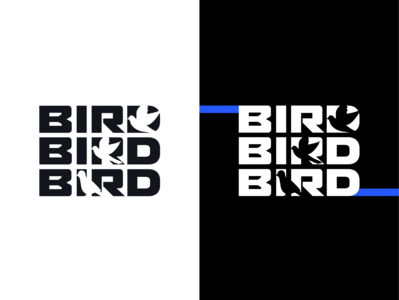 Concept Logo - «BIRD» five ivanfriz ivanlife minnimal better logotypes icon birds logotype concept bird illustration bird icon bird logo bird