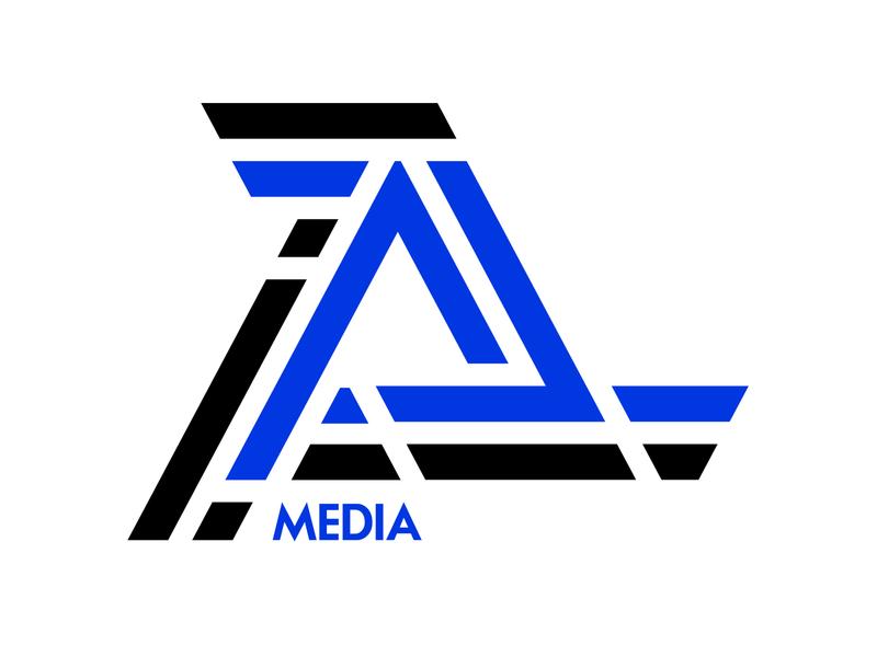 Logo - «A Media» media player ivanfriz web illustration icon fiv ivanlife design logo logotypes logotype medialogo media amedia app