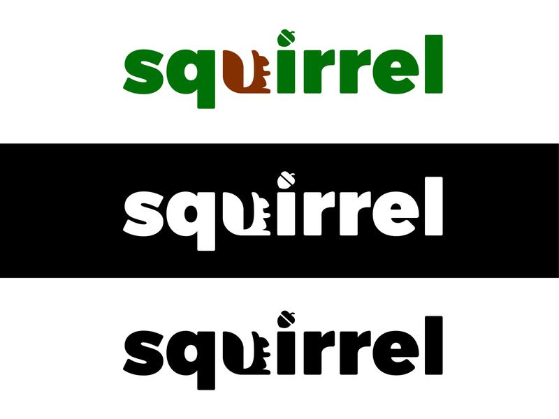 Logo - «Squirrel» minnimal branding illustration icon frizvan logo ivanlife fiv animal logotype concept squirrels squirrel