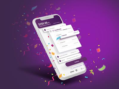 Payment Solution app ux ui concept ui