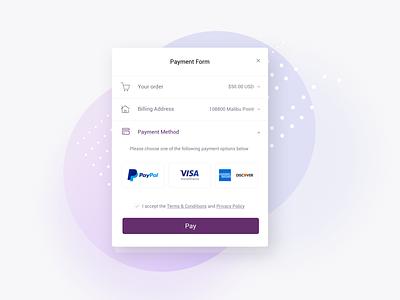 Payment Form payment form payment app ux ui concept ui