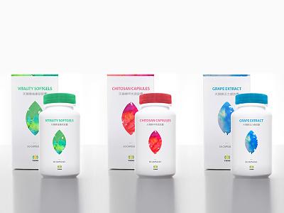 Supplement Packaging Design branding layout ociostudio packaging box container package dieline design supplement bottle