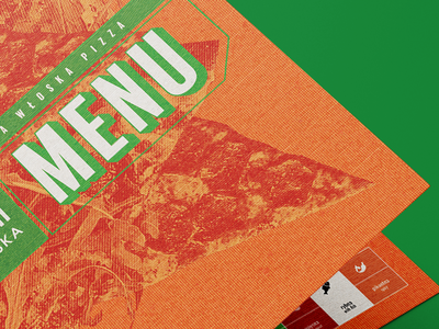 Pizza Menu restaurant branding collage colours italian restaurant food print branding keyvisual menudesign pizza pizzamenu