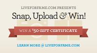 Snap, Upload & Win