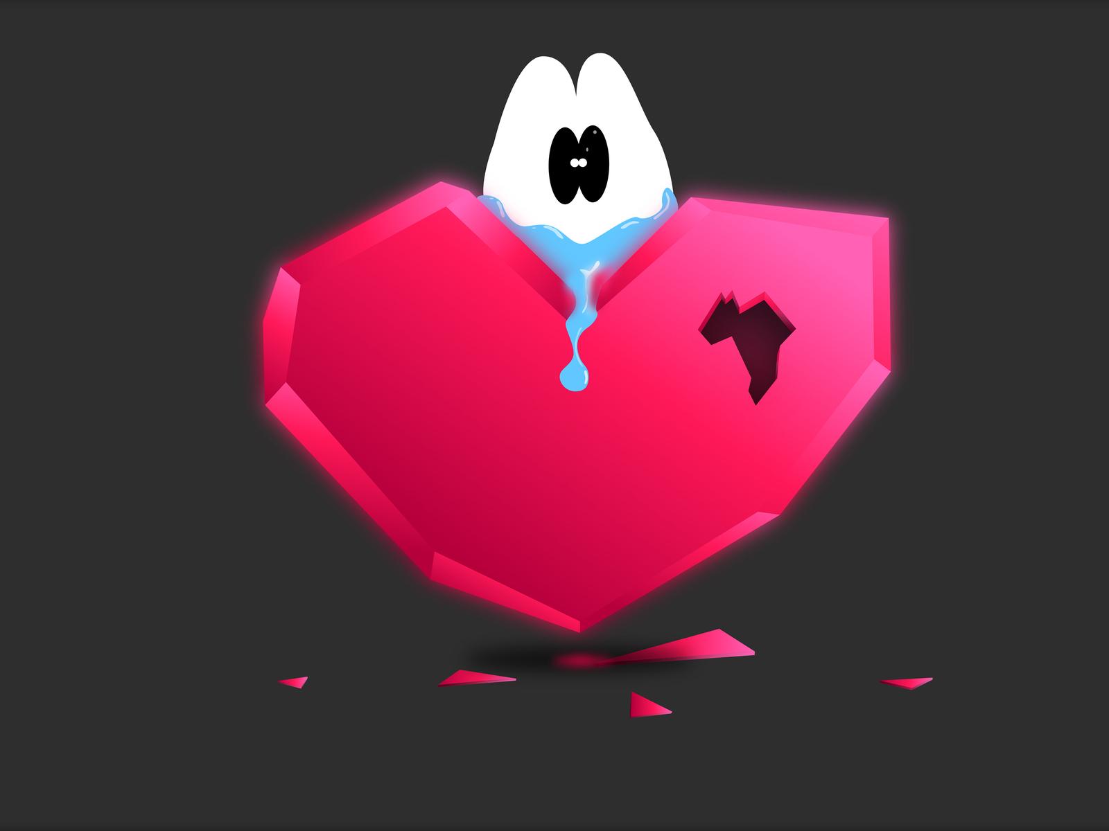 следующий картинки разбитое сердце со слезами собрали самые