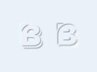 Brygraph Logo w/ Neumorphism Style