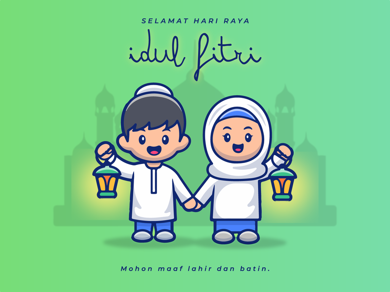 Greetings of Eid al-Fitr 1441 H (Indonesia)