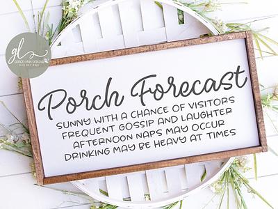 Porch Forecast