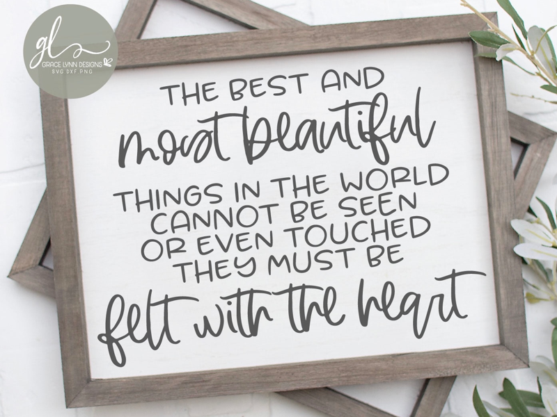 The Best And Most Beautiful Things 💕 svg