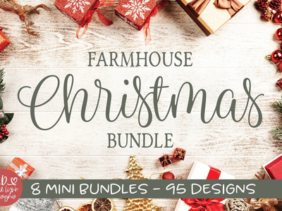Farmhouse Christmas Bundle 🎄⛄️