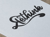 Rethink Hand Lettering
