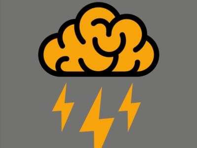 Después del Sol... Bienvenida Tormenta de Ideas brainstorm thunder cloud