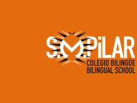 Branding y Señaletica Colegio SMPilar Madrid logo brand identity weezer works weezer works isotipo logotipos imagen corporativa branding smpilar colegio