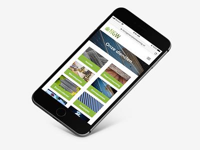 Prototype: Next Generation Woning mobille website iphone uxui ux greenenergy