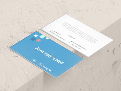 Bussines Card: Jorn van 't Hof