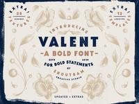 Valent - Serif Bold Font