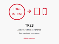 Tres website
