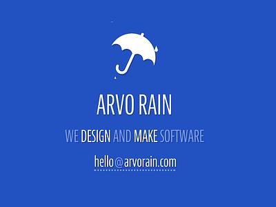 Arvo Rain