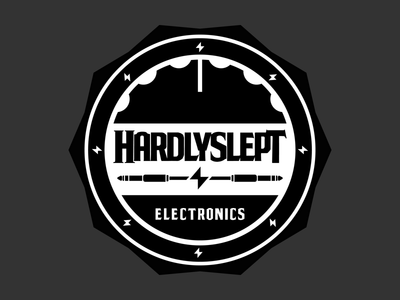 Hardlyslept Badge