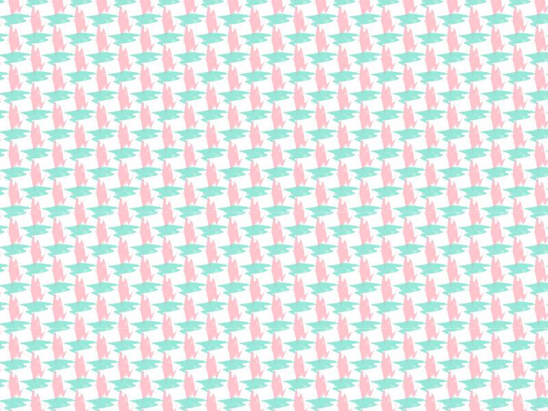 Criss Cross Applesauce spring pink teal pattern