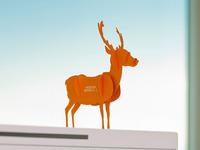 Festive Deer