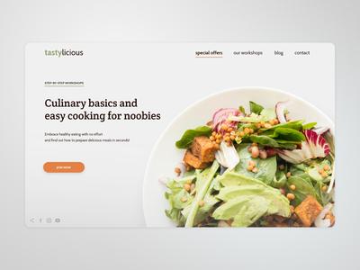 Culinary basics / Landing page